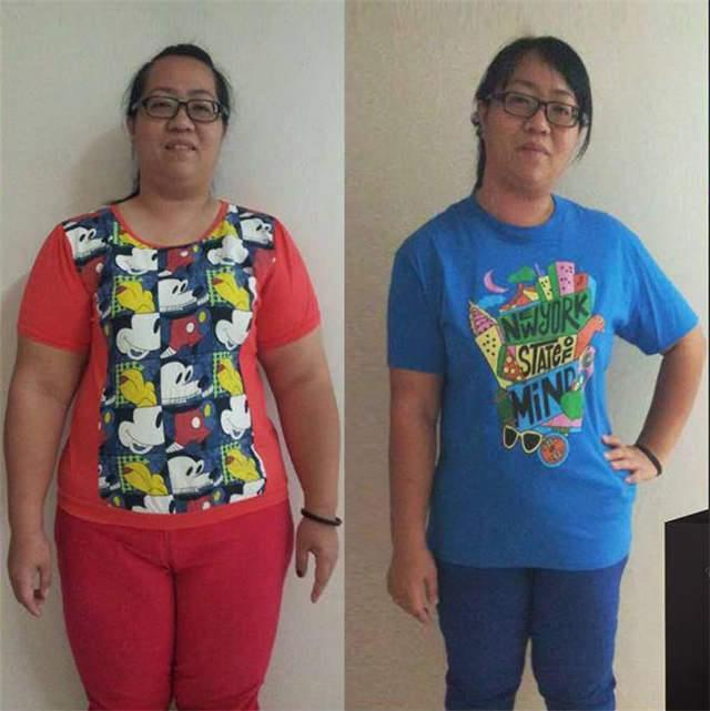 分享几个用神奇粉末减肥成功的案例!